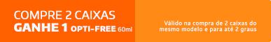 Promoção Compre 2cx Alcon Ganhe Opti-free 60ml